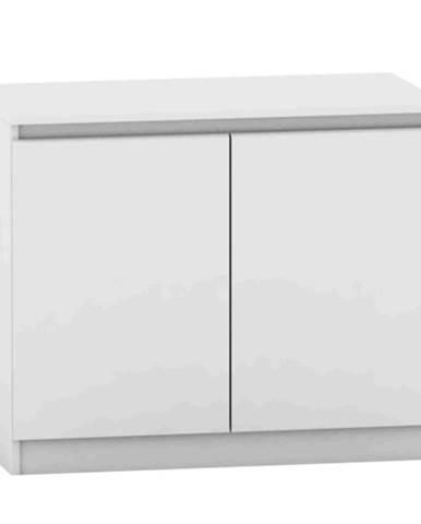 2 dverová komoda biela HANY NEW 008