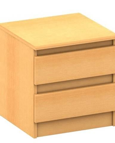 2 šuplíkový nočný stolík  buk HANY NEW 002