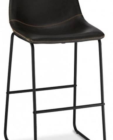 Barová stolička Guaro čierna