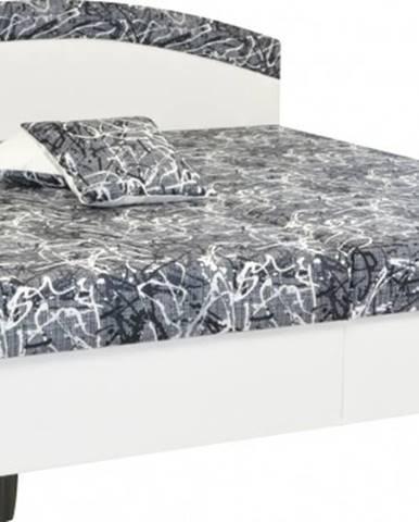 Čalúnená posteľ Corveta 160x200, vrátane matracov a úp