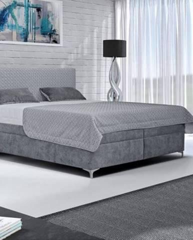 Čalúnená posteľ Sonia 180x200, vrátane matraca, pol. roštu a úp