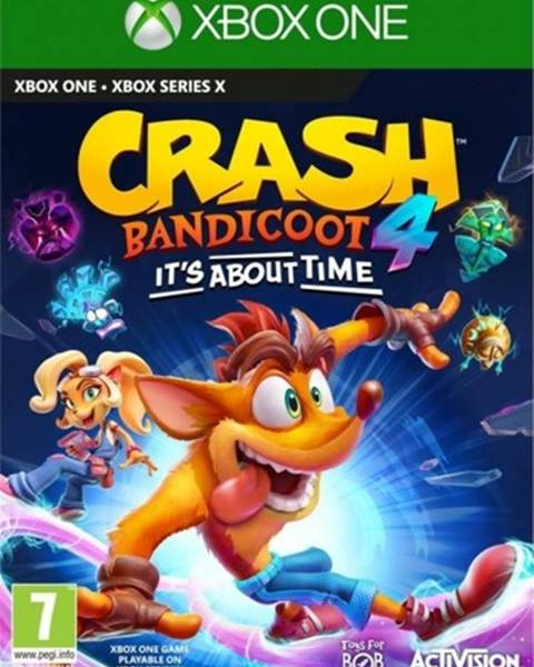 AT Computers Crash Bandicoot 4: It´s about time