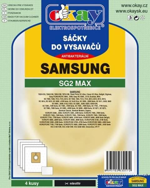 Jolly Vrecká do vysávača Samsung SG2 MAX, 8ks