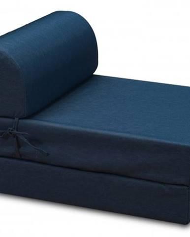 Moderné kreslo Marino rozkladacie modrá