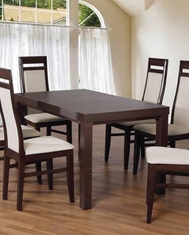 Set 3 - 6x stolička, stôl, rozkladací