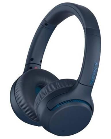 Bezdrôtové slúchadlá Sony WH-XB700, modré