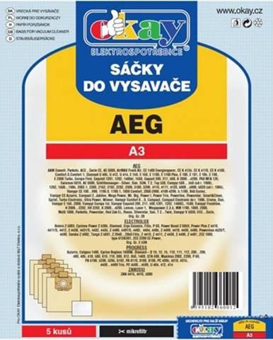 Vrecká do vysávača AEG A3,10ks