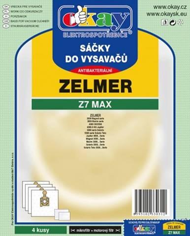Vrecká do vysávača Zelmer Z7 MAX, 8ks
