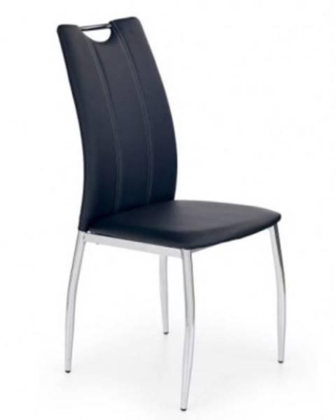 OKAY nábytok Jedálenská stolička K187 čierna