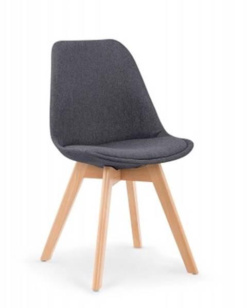 OKAY nábytok Jedálenská stolička K303 sivá