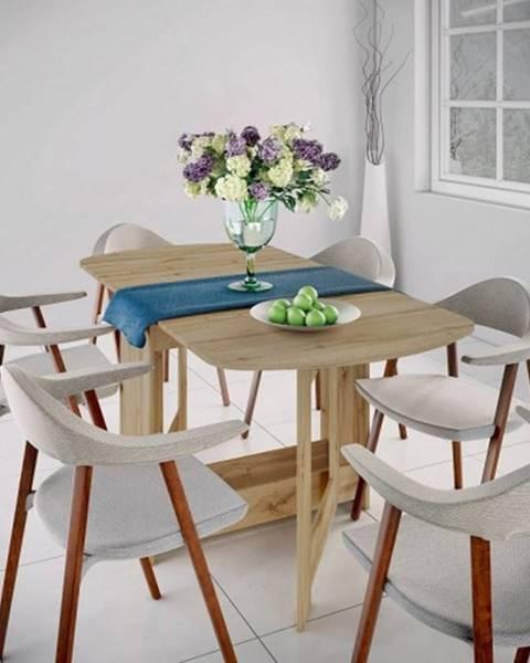 OKAY nábytok Jedálenský stôl rozkladací Jannick