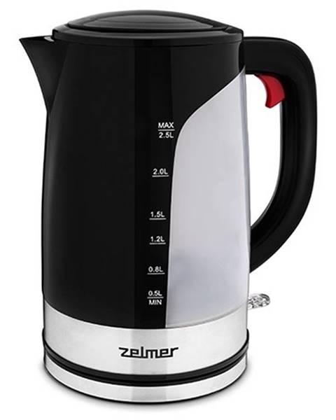 Zelmer Rýchlovarná kanvica Zelmer ZCK7618, čierna, 2,5l