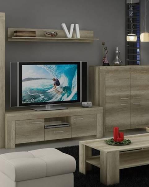 OKAY nábytok Sky - Obývacia stena, komoda, stolík, svetlo