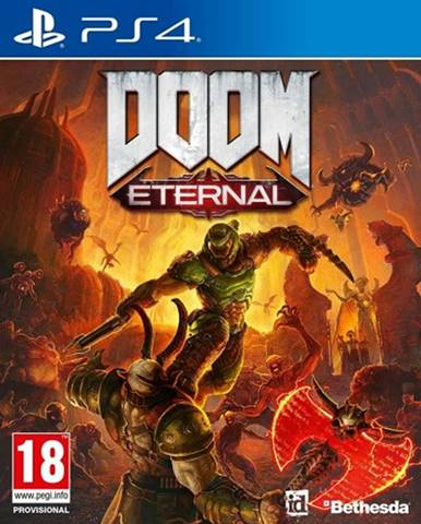 PS4 hra - Doom Eternal
