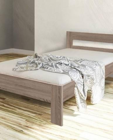 Rám postele Nikola II, 90x200, dub