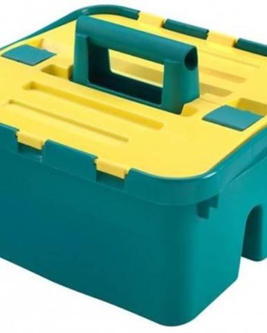 Úložný box s vekom Heidrun HDR1638, CADDY, plast, 38x35x25cm