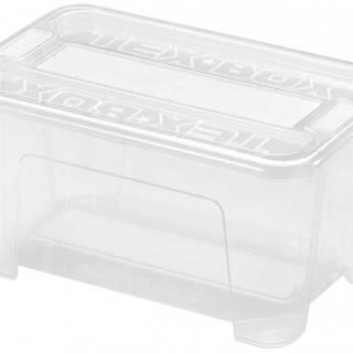 Úložný box s vekom Heidrun HDR7201, 4,5l, plast