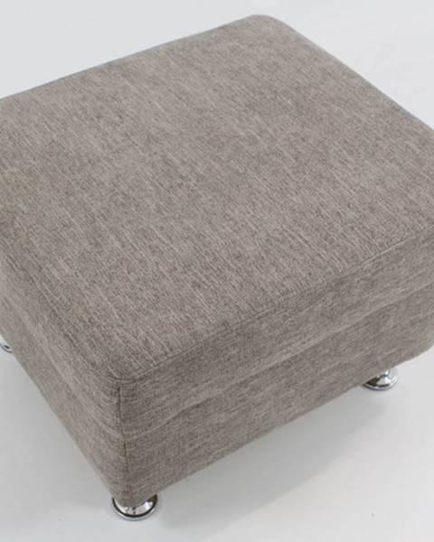 OKAY nábytok Taburetka Duo Panama obdĺžnik sivá ÚP