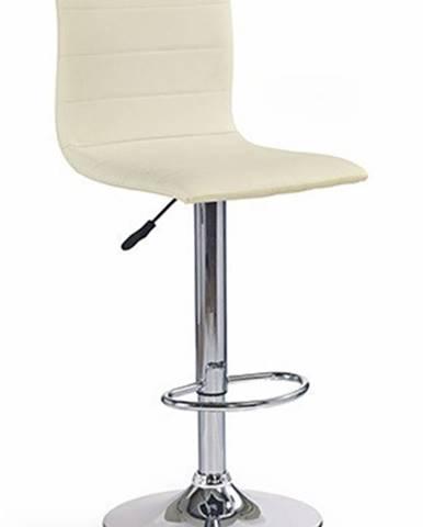 Barová stolička H21, krém