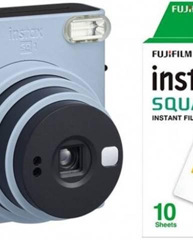 Fotoaparát Fujifilm Instax Square SQ1, modrá + fotopapier 10ks