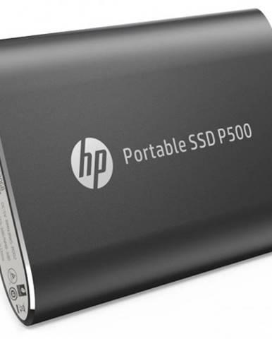 SSD disk HP P500 120GB / Externý / USB Type-C / čierny