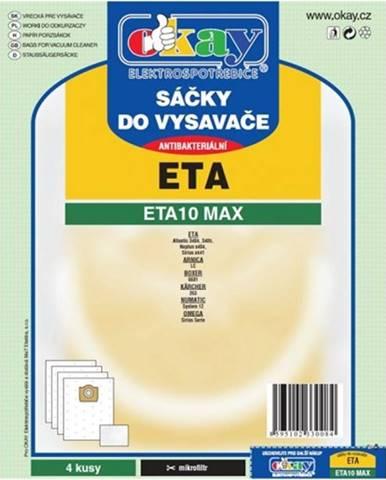 Vrecká do vysávača Eta ETA 10 MAX, 8ks