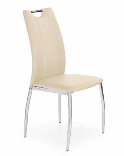 OKAY nábytok Jedálenská stolička K187 béžová