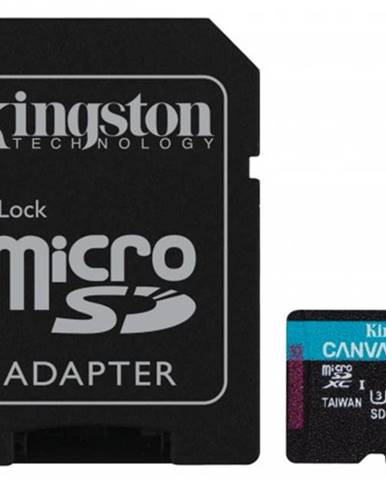 Micro SDXC karta Kingston256GB