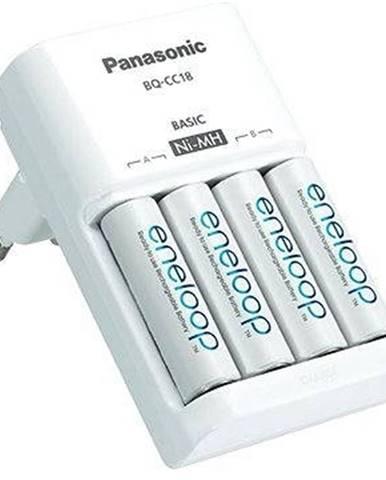 Nabíjačka Panasonic K-KJ51 + 4x AA, 2x AAA