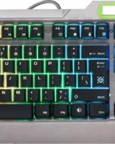 Herná klávesnica Defender Stainless Steel