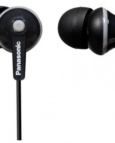 Slúchadlá do uší Panasonic RP-HJE125E-K, čierne