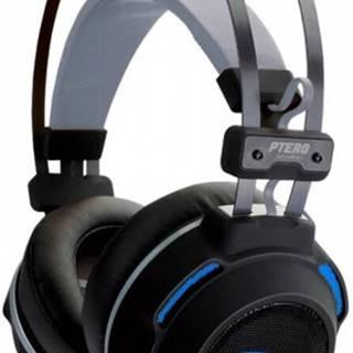 Herné slúchadlá EVOLVEO Ptero GHX300, podsvietené, s mikrofónom