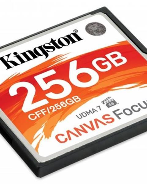 Kingston Compact Flash karta Kingston Canvas focus 256GB