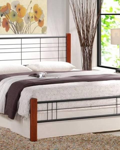 OKAY nábytok Kovová posteľ Vera 160x200, vrátane roštu, bez matracov