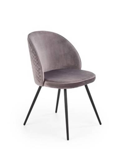 Jedálenská stolička Malena sivá