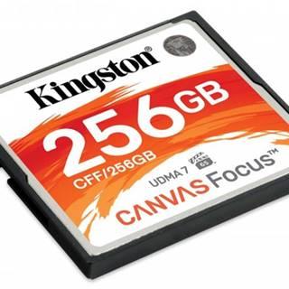 Compact Flash karta Kingston Canvas focus 256GB