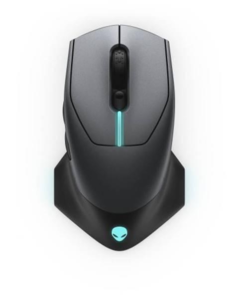 Dell Bezdrôtová myš DELL Alienware AW610M, herná, 7 tlačidiel, čierna