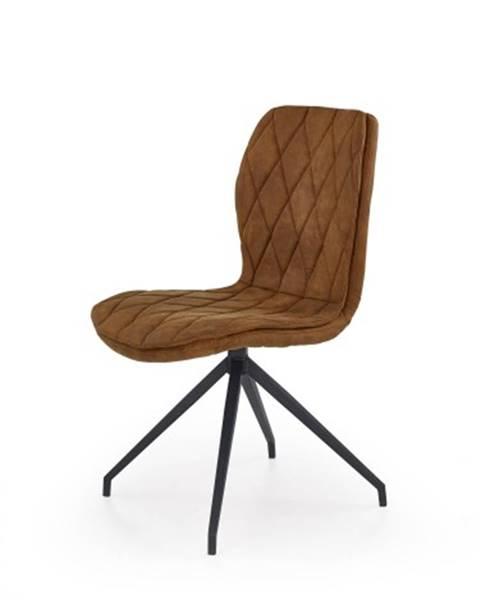 OKAY nábytok Jedálenská stolička K237 hnedá