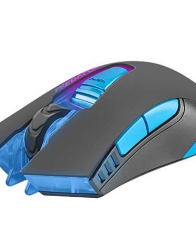 Herná optická myš FURY Predator, 4800 dpi, čierna
