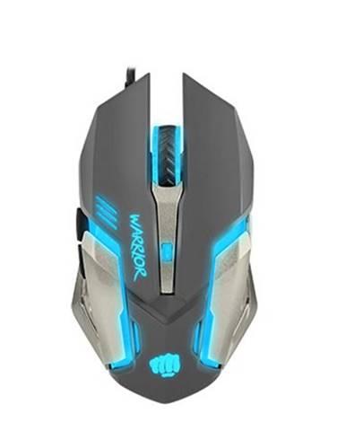Herná optická myš FURY Warrior. 3200 dpi, čierna