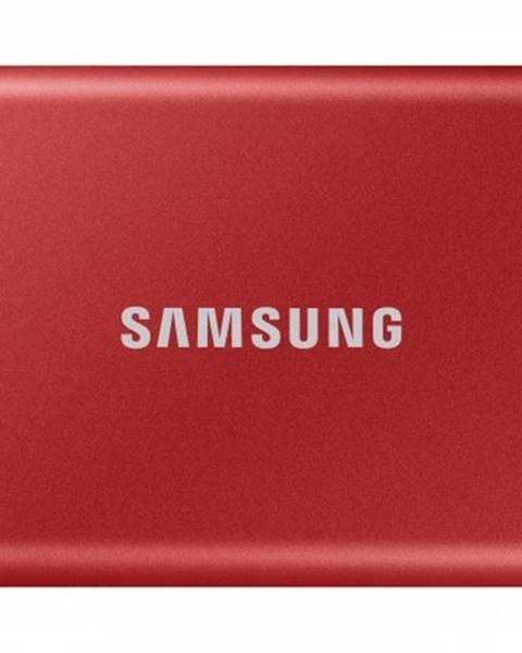 Samsung Externý SSD disk Samsung - 500 GB - červený