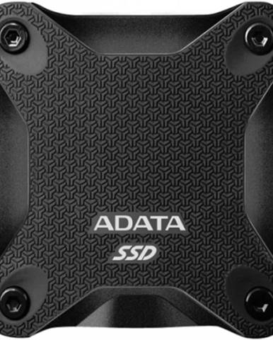 Externý SSD disk ADATA ASD600Q, 960 GB, USB 3.1, čierna