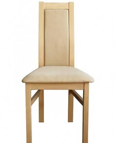 Jedálenská stolička Agáta sonoma, krémová