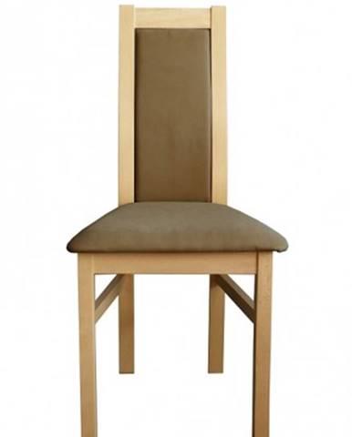 Jedálenská stolička Agáta, sonoma, šedohnedá