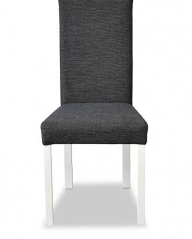 Jedálenská stolička Venus biela, sivá