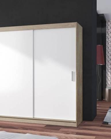 POP 2 - Skriňa 180x215x60 cm, posuvné dvere