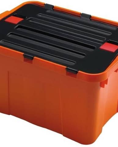 Úložný box Heidrun HDR1645, DRAGON, 34L, oranžový
