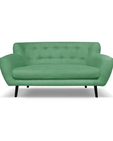 Zelená pohovka Cosmopolitan design Hampstead, 162 cm