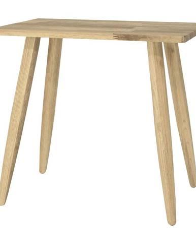 Stolička z dubového dreva Canett Uno
