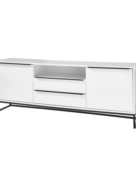 Sconto TV stolík LISSY biela